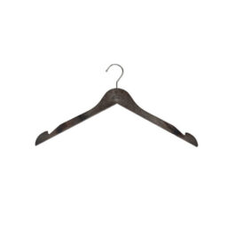 wood grain plastic top hangers