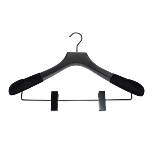 suit wood hangers with clips