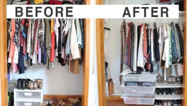 How to deal with the disorganized closet